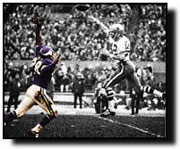 Page defends against Roger Staubach.